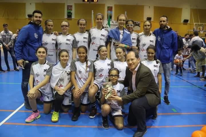Equipo Femenino - Pre-Infantil 1 Division - CB Santa Cruz
