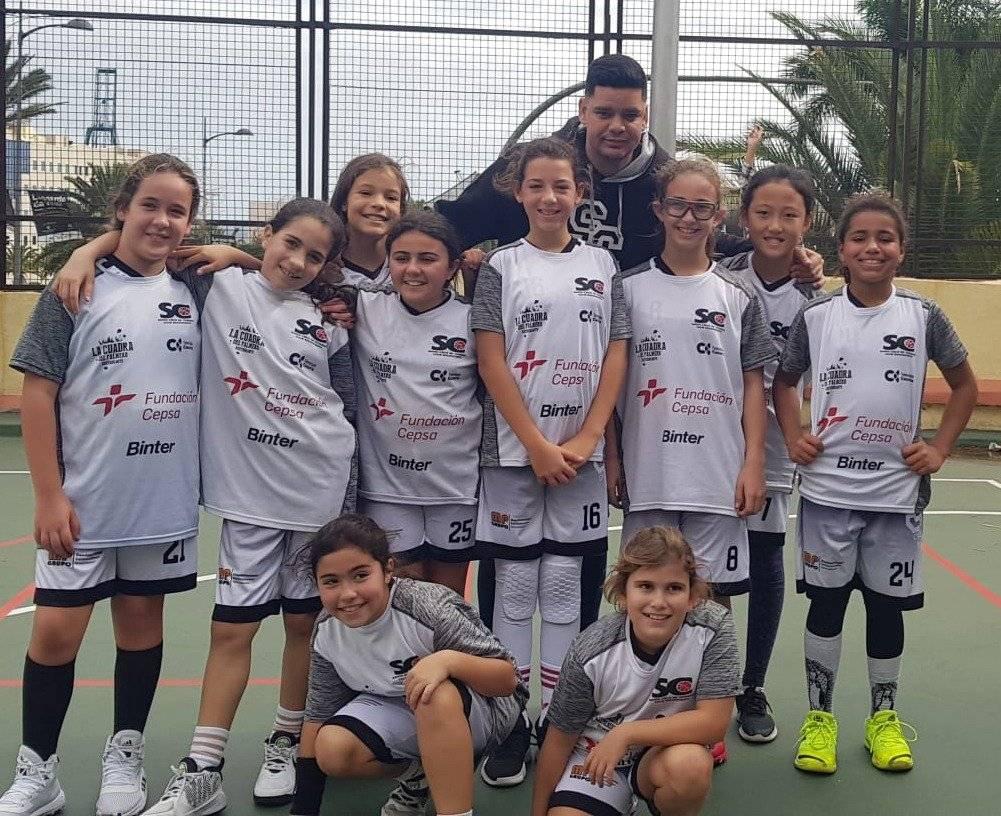 Equipo Femenino - Benjamin - CB Santa Cruz