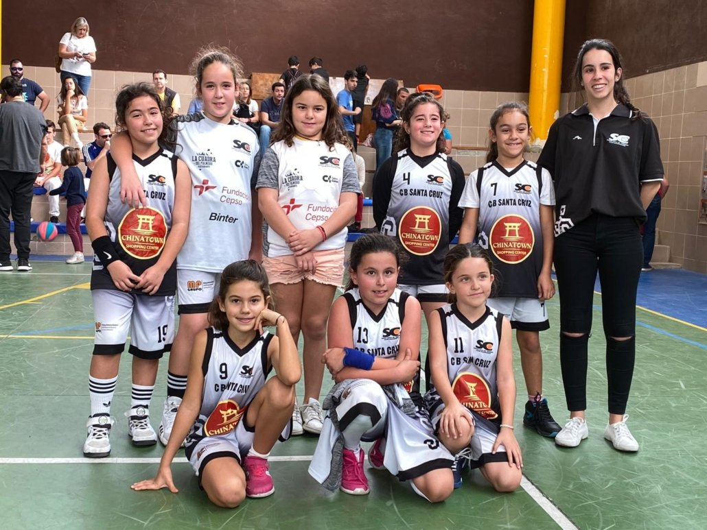 Equipo Femenino - Pre-Benjamín - CB Chinatown Santa Cruz